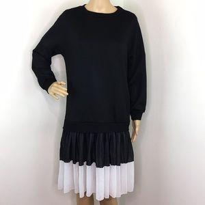 Zara Sweater Dress with Ruffles